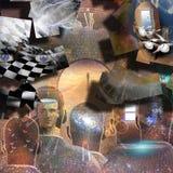 consciousness ilustração royalty free