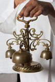 Consecration bells during holy mass Royalty Free Stock Images