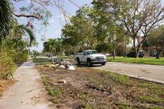 Consecuencias 2 de Irma del huracán Fotografía de archivo libre de regalías