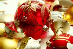 Consecuencias de la Navidad Fotografía de archivo