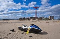 Consecuencias de Sandy del huracán Fotos de archivo
