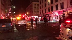 Consecuencias del fuego de cuatro alarmas en 24 Murray Street 7 metrajes
