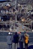 Consecuencias del temblor de Northridge imagen de archivo libre de regalías