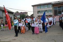 8.consecutive international foklore festival  Luka Royalty Free Stock Photo