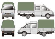 Consegna/camion del carico Fotografia Stock