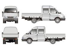 Consegna/camion del carico Fotografie Stock