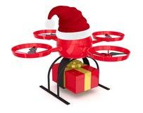Consegna dei regali di Natale Fotografia Stock