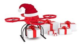 Consegna dei regali di Natale Immagini Stock Libere da Diritti