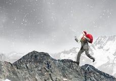 Consegna dei regali di Natale! Immagine Stock Libera da Diritti