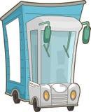 Consegna del camion Fotografie Stock
