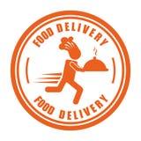 Consegna dell'alimento illustrazione vettoriale
