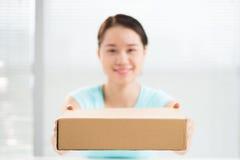 Consegna della scatola immagine stock