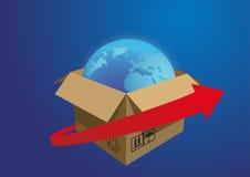Consegna di carico Immagini Stock Libere da Diritti