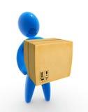 Consegna di Pakage Immagini Stock