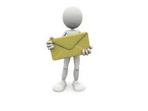Consegna di posta illustrazione vettoriale