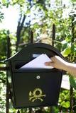 Consegna di posta Fotografie Stock
