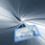 Consegna di posta del Internet Fotografia Stock