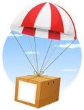 Consegna di trasporto di posta aerea Fotografia Stock Libera da Diritti