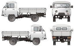 Consegna di vettore/camion del carico Fotografia Stock