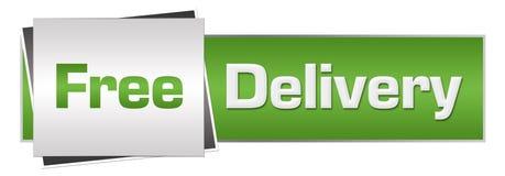 Consegna gratuita Grey Horizontal verde Immagini Stock Libere da Diritti