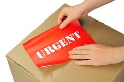 Consegna urgente Immagine Stock