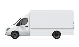 Consegna Van Isolated Immagini Stock