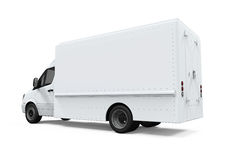 Consegna Van Isolated Immagine Stock Libera da Diritti