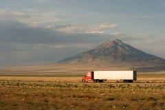 Consegna veloce attraverso l'America Fotografie Stock Libere da Diritti