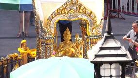 Conseguenze 12, Bangkok, Tailandia di scoppio di Ratchaprasong archivi video