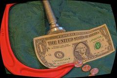 Conseguir a cada Penny Out de cada dólar del negocio Fotografía de archivo libre de regalías