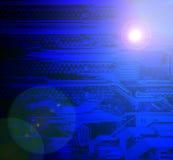 Conseil électronique. Photo libre de droits