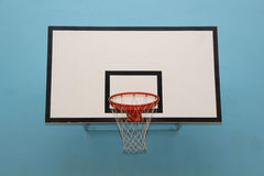 Conseil blanc de basket-ball Photos libres de droits
