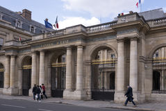 The Conseil d Etat Council of State is an administrative cour Royalty Free Stock Images