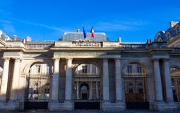 The Conseil d Etat Council of State , Paris, France. The Conseil d Etat Council of State is an administrative court of the French government, Paris, France Stock Photography