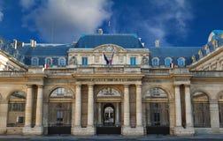The Conseil d Etat Council of State , Paris, France. The Conseil d Etat Council of State is an administrative court of the French government, Paris, France Stock Images
