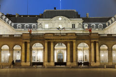 Conseil d'etat - State Council. French State Council building in Paris Royalty Free Stock Image