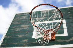 Conseil de basket-ball de rue Photo stock