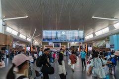 Conseil de départ dans l'aéroport international de kilolitre Départ Hall Mala Photo stock
