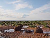 Conseil de la Mer du Nord au R-U Photographie stock libre de droits