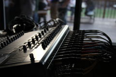 Conseil de mélange pour Live Audio Photo libre de droits