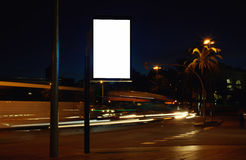 Conseil de publicité électronique avec l'espace vide de recopie d'écran pour votre message textuel Photos stock