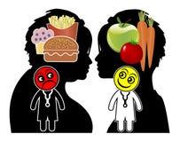 Conseil diététique des médecins Photos stock