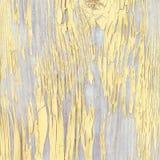 Conseil en bois en écailles jaune Fin vers le haut image libre de droits