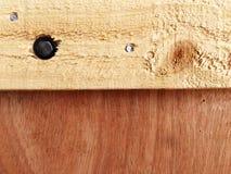 Conseil en bois Photographie stock