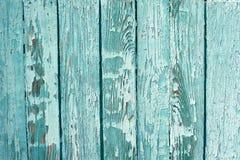 Conseil en bois peint épluché Photographie stock