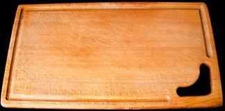 Conseil en bois pour la coupure Image stock