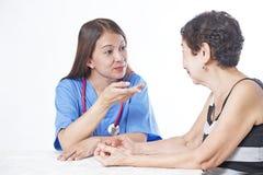 Conseil médical images libres de droits