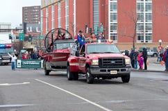 Conseil municipal et maire dans le carnaval d'hiver Images libres de droits