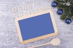 Conseil pour le copyspace Noël et an neuf photographie stock