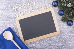Conseil pour le copyspace Noël et an neuf photographie stock libre de droits